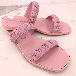NWOT Stuart Weitzman pink rubber sandal
